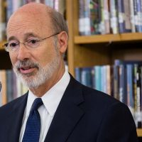 Governor Tom Wolf announces grant awardees.