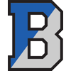 Bensalem School District Logo - capital B with blue and grey coloring.