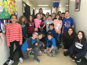 Mrs. Bullard's Class and Gus, the Therapy Dog