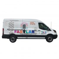 FAB LAB Van side view.