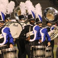 the CB South Marching Titans perform