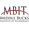 Middle Bucks Institute of Technology  logo with MBIT  and full name spelled out.
