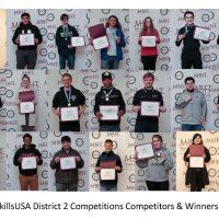 2021 SkillsUSA Competitors and Winners