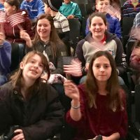 Sixth Grade Center students enjoy Veterans Day ceremony at Palisades Middle School.