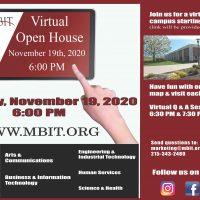 Open House Flyer for November 19th